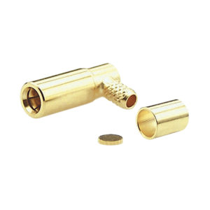 Right Angle RF Connector Gold Plated